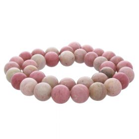 Rhodonite / round / 12mm / 32pcs