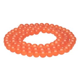 MIST ™ / round / 8mm / orange / 105pcs