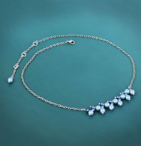 Blue Drops Necklace