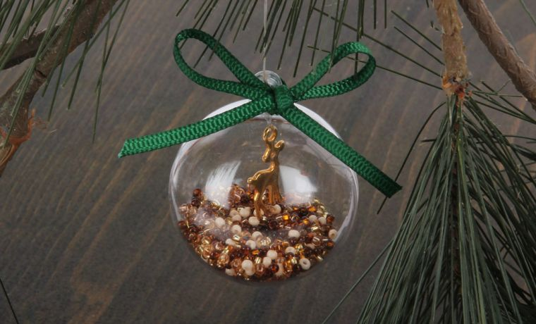 Christmas Bauble Decoration | Mini Make
