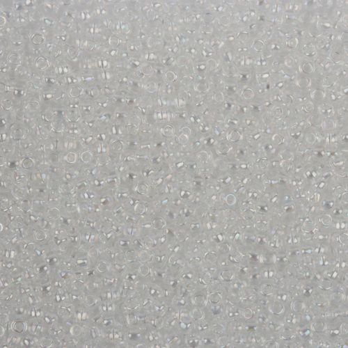 Toho Size 11 Round Seed Beads Transparent Crystal Rainbow 7.5g TUBE