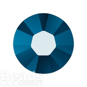 2078 Swarovski Crystal Hotfix Round 7mm SS34 Crystal Metallic Blue A HF Pk144