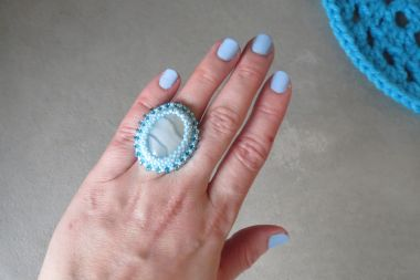 How To Make A Stone Cabochon Ring - A Jewellery Making Tutorial