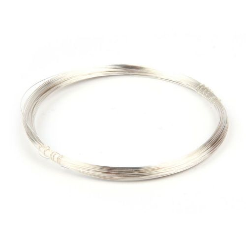 X Silver Plated Copper Wire 0.2mm 25metre Coil