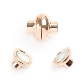 Rose Gold 5mm Magnetic Clasp Pk1