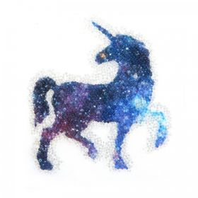 Swarovski Crystal Fabric-IT Unicorn Self-Adhesive Pk1