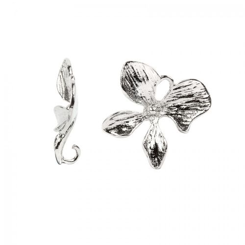 Titanium Plated Petal Charm 14mm Pack of 1