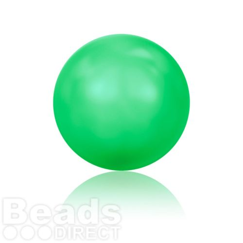 5810 Swarovski Glass Pearls 8mm Crystal Neon Green Pk250
