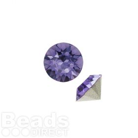 1088 Swarovski Crystal Chaton SS29 6mm Tanzanite F Pk6