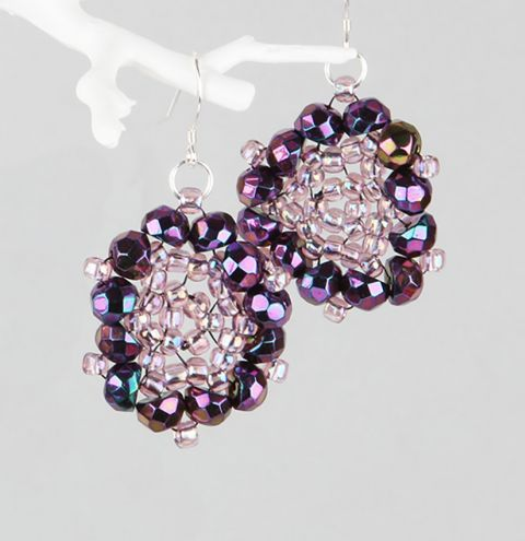 Preciosa Hill Bead Earrings | Take a Make Break