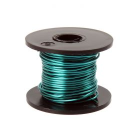 Supa Green Coloured Copper Craft Wire 0.9mm 8metre Reel