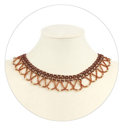'Lacella' Netted Collar