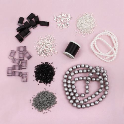 Beads Direct Harbour Mist Carrier Duo Beads Jewellery Kit