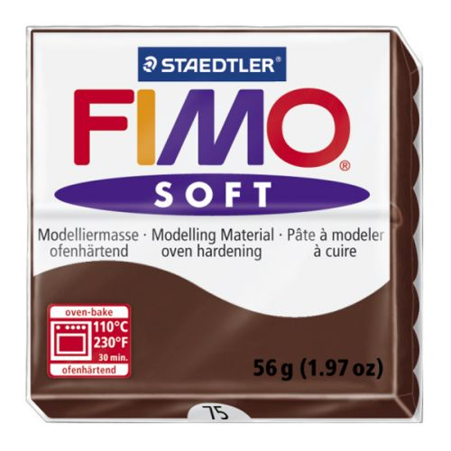 Staedtler Fimo Soft Polymer Clay Chocolate 56g (1.97oz)