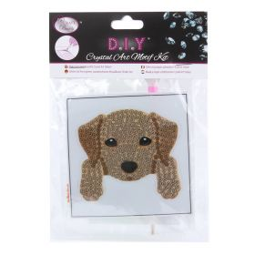 Beads Direct Crystal Motif Kit 'Dog' with Tool