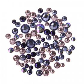 2088 Swarovski Crystal Non Hotfix Purple Mix 5g