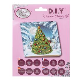 Beads Direct 'Christmas Tree' Crystal Card Kit