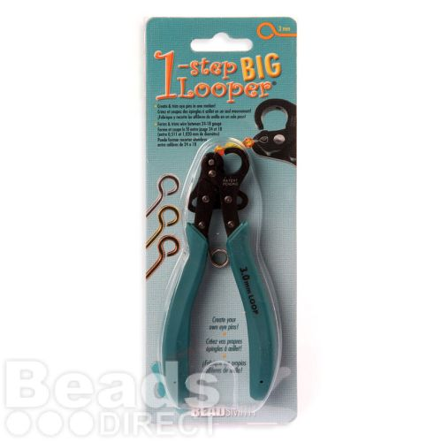 Plooper 1 Step BIG Looper 3mm 24-18gauge Cuts and Loops Wire Pk1