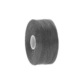 BEADSMITH ™ / thread S-LON D / nylon / Tex 45 / Charcoal / 70m