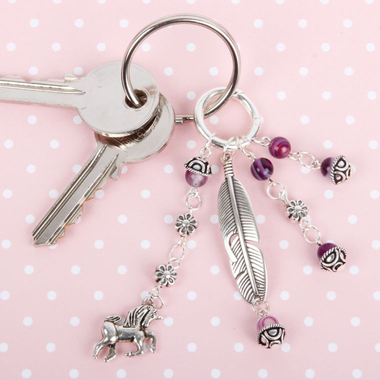 MINI-MAKE 'Unicorn Dream' Key Ring