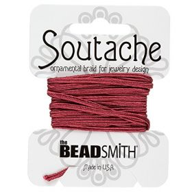 Rose Rayon Soutache Cord Beadsmith 3yds