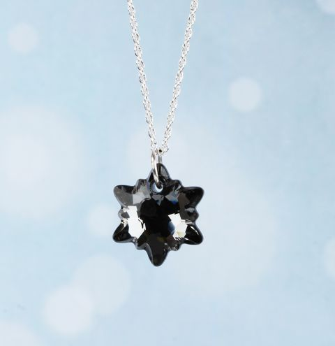 Edelweiss Necklace made with Swarovski