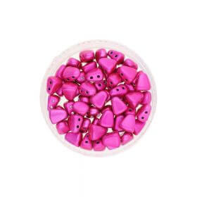 NIB-BIT™ / 6x5mm / Metalust / Hot Pink / 5g / ~27pcs