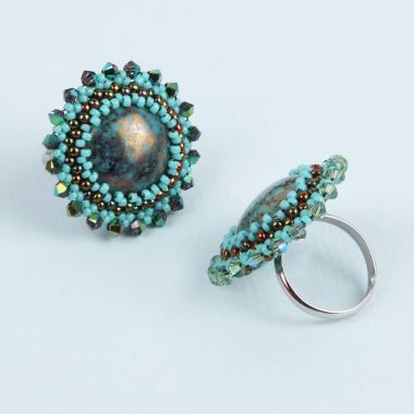 Cabochon Bezel Ring | Take a Make Break