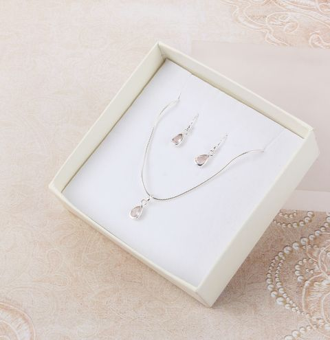 Teardrop Jewellery Set