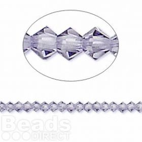 5328 Swarovski Crystal Bicones Xillion 3mm Tanzanite Pk24