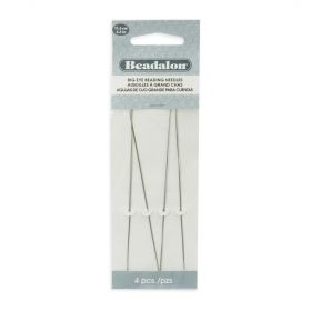 "Beadalon Big Eye Needle 116mm (4.5"") Pk4"