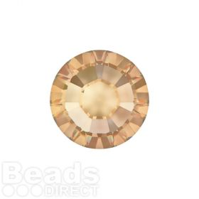 2078 Swarovski Crystal Hotfix Round 4mm SS16 Crystal Golden Shadow A HF Pk1440