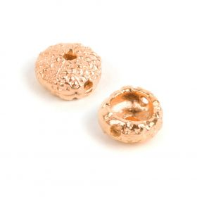 Rose Gold Plated Sea Urchin Bead 5x11mm Pk1