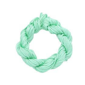 Mcord ™ / Macramé cord / nylon / 1.5mm / light celadon / 13m