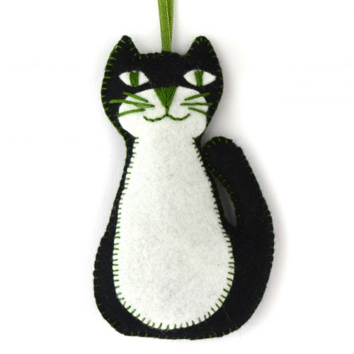 Corinne Lapierre Mini Black Cat Felt Craft Kit