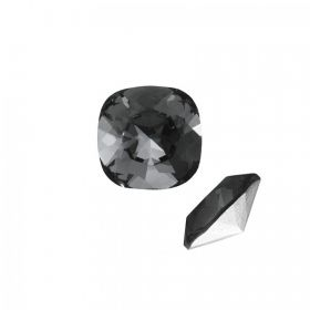 4470 Swarovski Crystal Square Fancy 10mm Graphite F Pk1