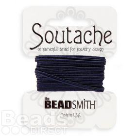 Navy Rayon Soutache Cord Beadsmith 3yds