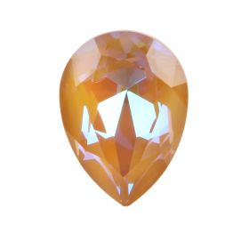 4320 Swarovski Crystal 13x18mm Drop Fancy Stone Crystal Ochre DeLite Pk1