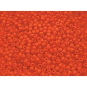 TOHO ™ / Round 8/0 / Opaque / Sunset Orange / 10g / ~ 300pcs