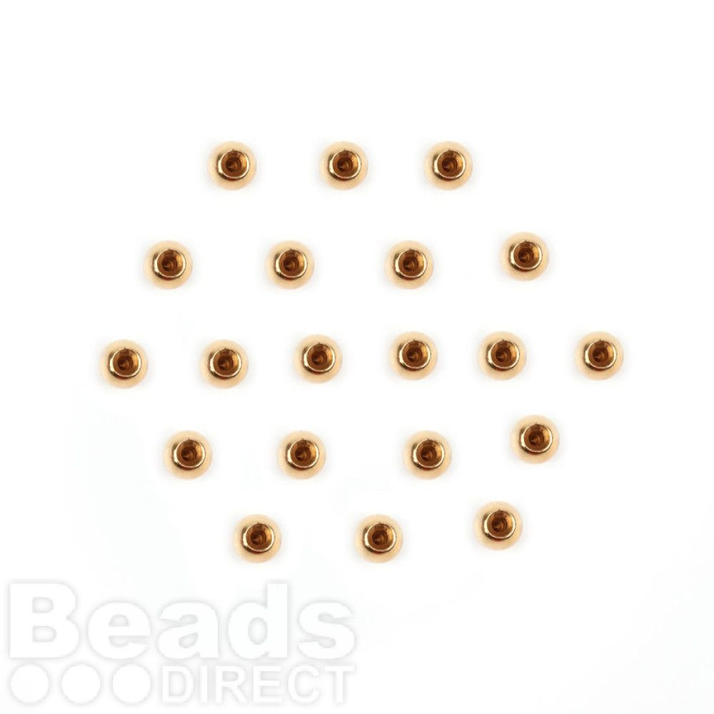 Gold Plated End Cap Bead Ends For Memory Wire 3mm Pk20 | Beads Direct