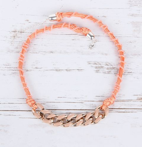 Peach Perfect Necklace