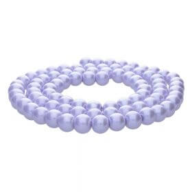 SeaStar™ / glass pearls / round / 8mm / violet / 110pcs