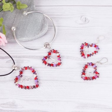 Love Heart Jewellery Set