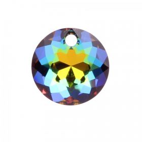 6430 Swarovski Crystal Classic Cut Charm 10mm Crystal Vitrail Medium P Pk1