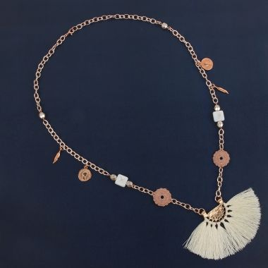 Ivory Trinket Necklace