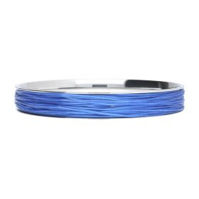 Elastoma / jewellery elastic / 0.5x0.8mm / bright blue / 5m