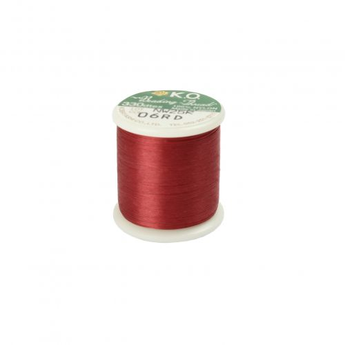 KO Beading Thread Red 50m