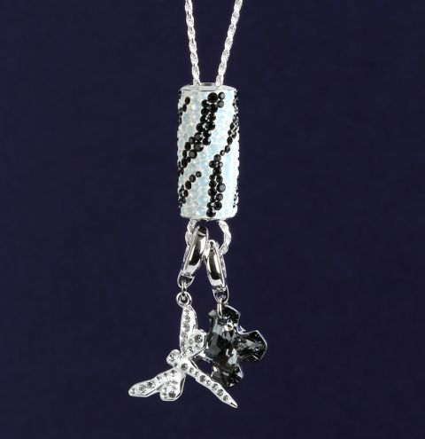 Spring Swarovski BeCharmed Necklace