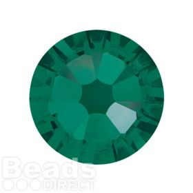 2088 Swarovski Crystal Flat Backs Non HF 7mm SS34 Emerald F Pk144