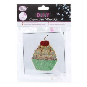 Beads Direct Crystal Motif Kit 'Cupcake' with Tool